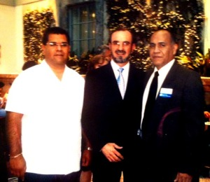 Community activist, former Consul General of Mexico, and Jorge Zavala